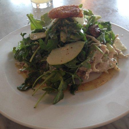 Swooner: Chicken confit salad