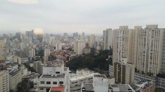 Maksoud Plaza : Vista do meu quarto