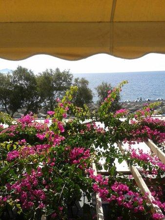 Levante Beach Hotel: Panorama dalla terrazza della colazione