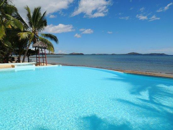 Anjiamarango Beach Resort: La piscine à débordement
