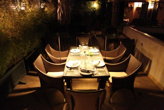 Riad Idra: Private Dinner Prepared just for us!
