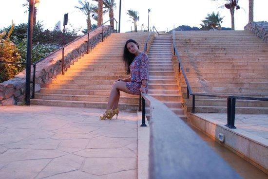 Le Meridien Dahab Resort: Территория отеля