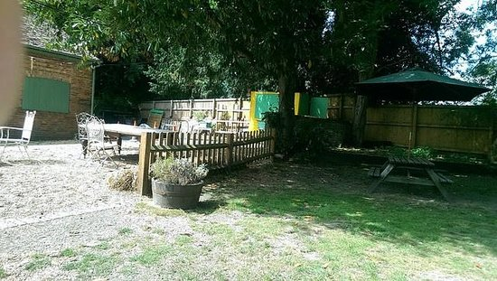 The Woolpack Restaurant: Rubbish tip or pub garden? You decide