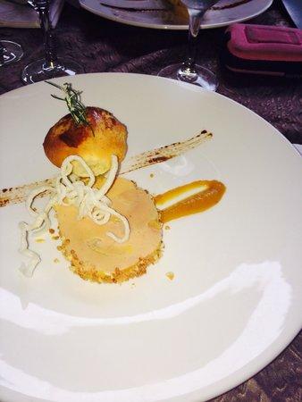 Auberge de la chèvre d'or : Foie gras
