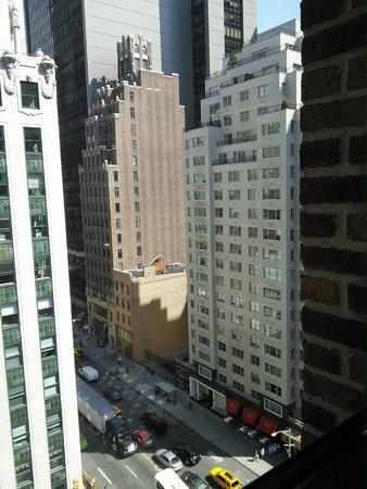 the Quin : Vue extérieure depuis la fenêtre