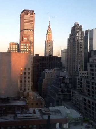 Sofitel New York: our bedroom view