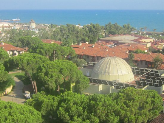Paloma Grida Resort & Spa: View from tower of spa and hotel grounds