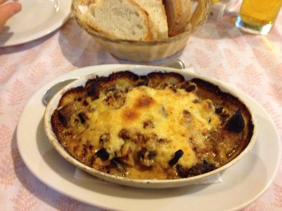 Zorbas: Roast mushrooms, excellent starter!
