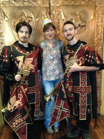 Medieval Times Buena Park: con los guardias del Rey