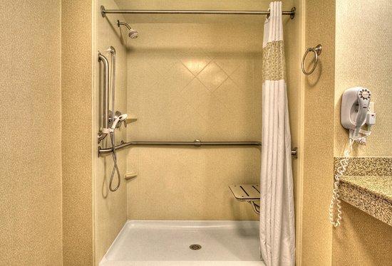 Hampton Inn Roanoke Rapids: Roll In Shower