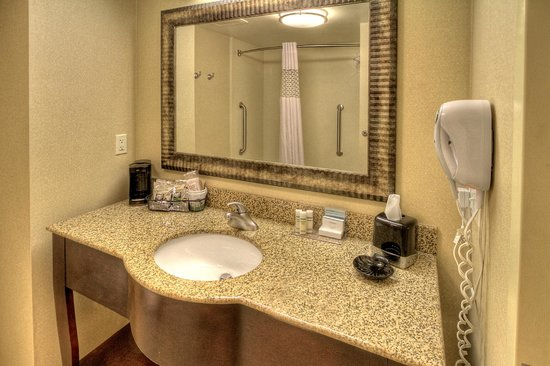 Hampton Inn Roanoke Rapids: Standard Bath