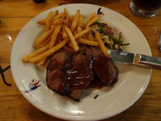Wildcat Willies Ranch Grill & Saloon: Wrangler steak