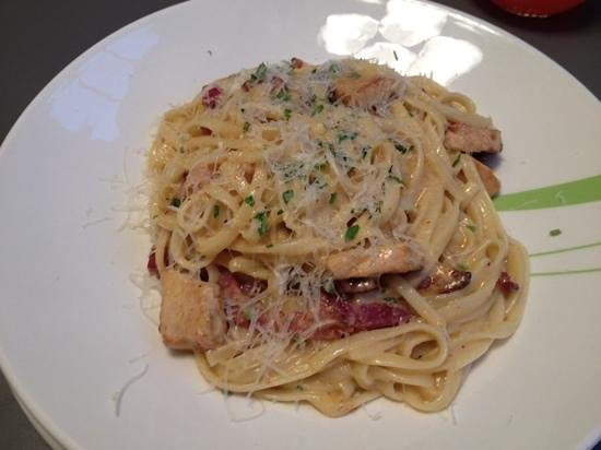 Ask Italian - Chichester: Carbonara with added Chicken