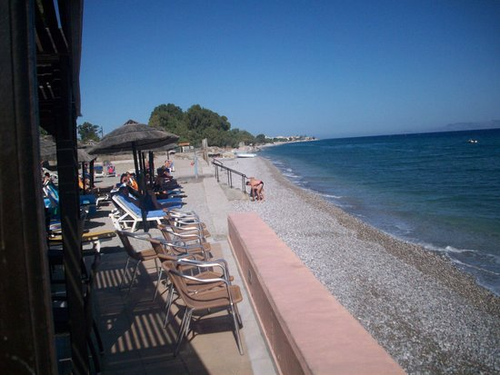 Avra Beach Resort Hotel - Bungalows: met zicht op zee