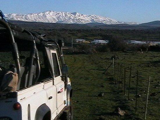 Merom Golan: To the Syrian border