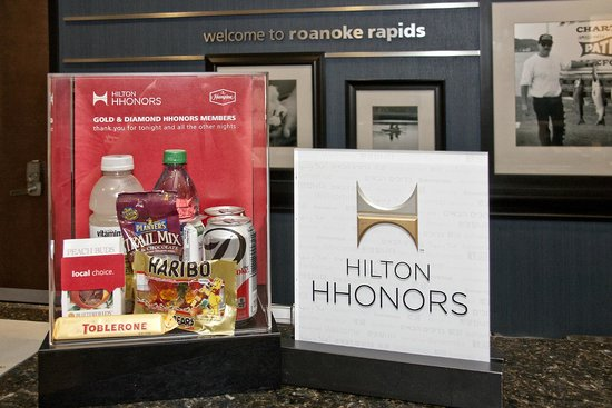 ‪‪Hampton Inn Roanoke Rapids‬: HHonors‬