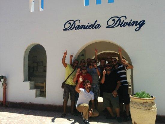 Daniela Village Dahab: diving team :-)