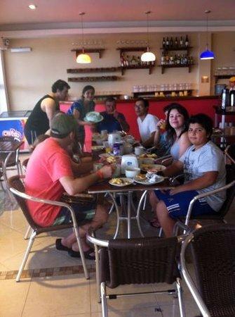 Portobelo Beach: desayuno