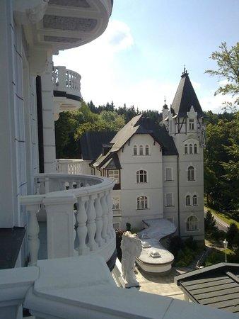 Esplanade Spa & Golf Resort: Esplanade - view from the balcony