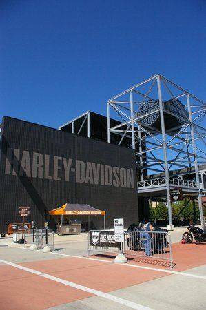 Harley-Davidson Museum: The Harley Davidson sign
