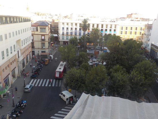 Hotel America  - Seville : Took a photo from my room window