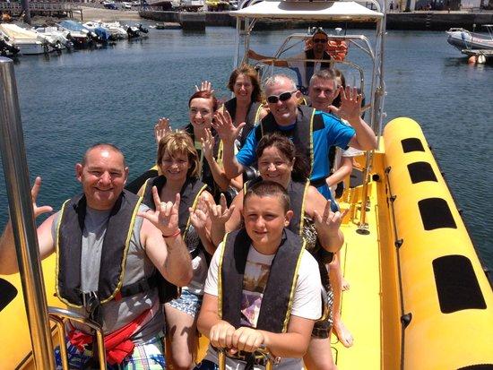 Waverider Lanzarote- Day Tours : Waverider Lanzarote RIB Experience 1 Hour RIB Safari