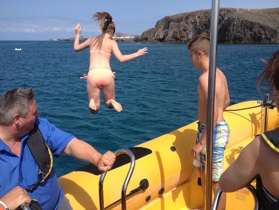 Waverider Lanzarote- Day Tours : Waverider Lanzarote RIB Experience 2 Hour Coastal Adventure