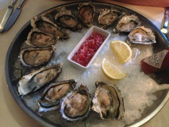 Rising Sun Resturant: Fantastically fresh and tasty oysters
