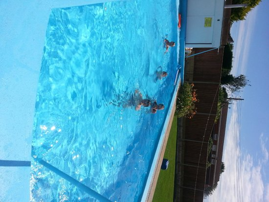 Palm Court Hotel: in the heated pool