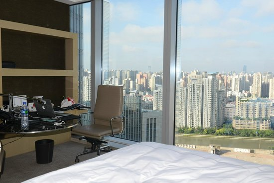 InterContinental Shanghai Puxi: working corner
