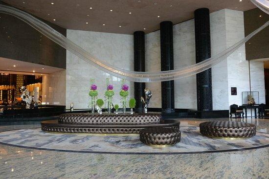 InterContinental Shanghai Puxi: The lobby