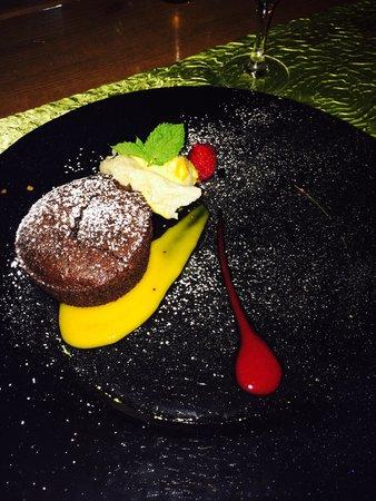 Auberge de la chèvre d'or : Moelleux au chocolat