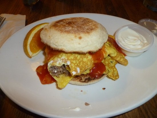 Pony Island Restaurant: Taco Muffin