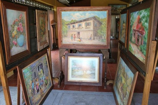 Amarela Resort: Art Gallery on the top floor
