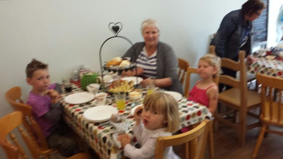 A Right Royal Tea Party: An amazing afternoon tea with Grandma and my three children.