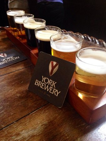 York Brewery: Our tasters