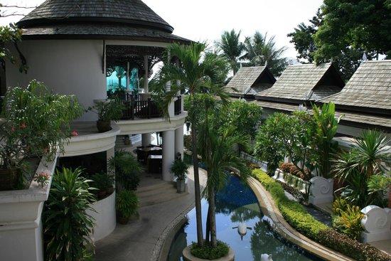 Dara Samui Beach Resort : Внутренний двор