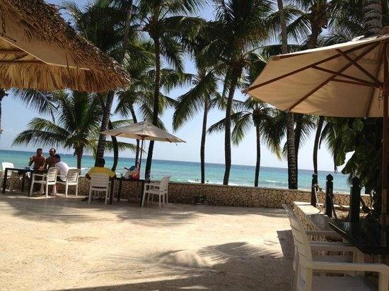 Viva Wyndham Dominicus Beach : Pileta central