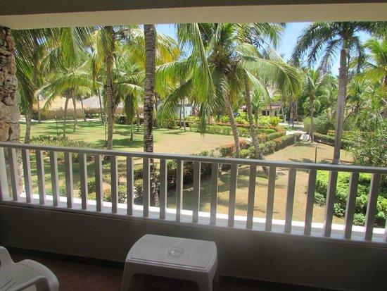 Viva Wyndham Dominicus Beach: Vista al jardin