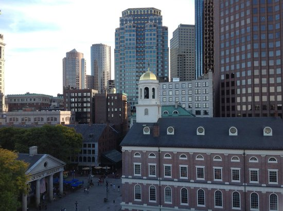 The Bostonian Boston: View from the Penthouse Balcony 2