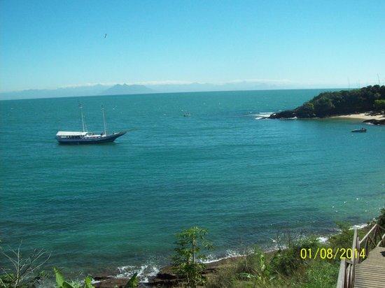 Azeda Beach: vista da praia.