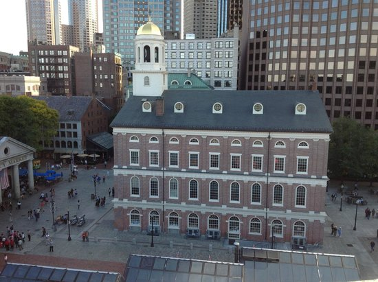 The Bostonian Boston: View of Faneuil Hall from the Penthouse Balcony 2