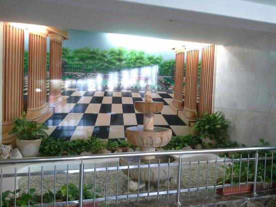 Hotel Samba: le hall d'entrée