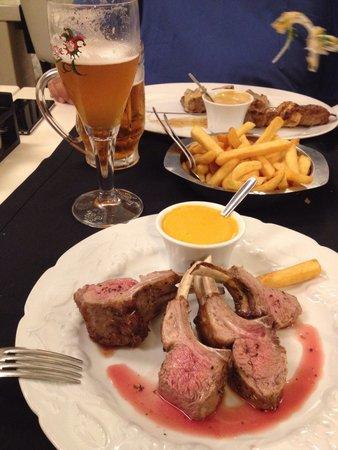 Restaurant Curiosa: каре ягненка