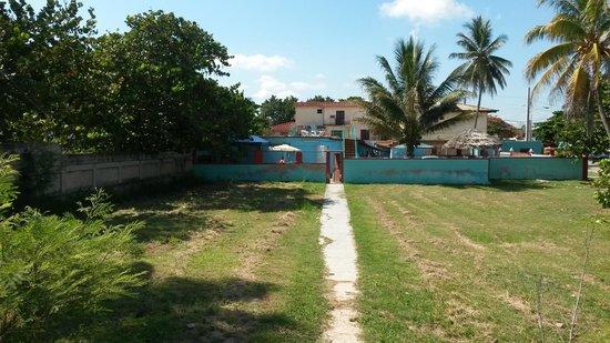 Berta & Alfredo : La casa vista dalla spiaggia