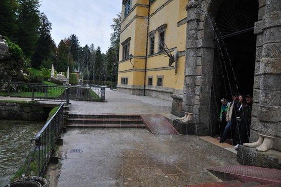 Jeux d'eau d'Hellbrunn : Uno de sus juegos