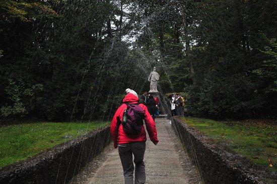 Jeux d'eau d'Hellbrunn : Camino