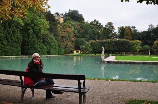 Jeux d'eau d'Hellbrunn : Parque