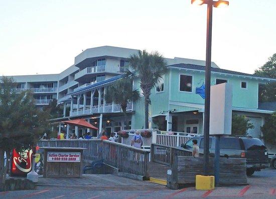 Shipp's Harbour Grill: Entrance to Shipp's