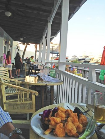 Shipp's Harbour Grill: The porch seating at Shipp's